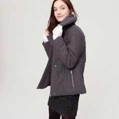 Loft xs petite coat.  Brand new unworn. Warm and stylish. Brand new without tags. LOFT Jackets & Coats Puffers