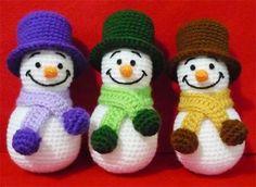 Weihnachtsdeko häkeln anleitung kostenlos  Jolly Holidays: 15 Free Knit and Crochet Gifts and Holiday ...