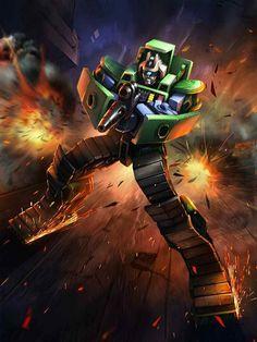 Constructicon Bonecrusher Artwork From Transformers Legends Game