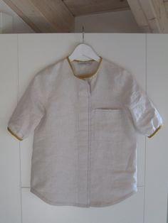 Linen shirt https://ortodeltessuto.wordpress.com/ by elena r