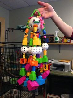 'Toos (Cockatoos) Just Wanna Have Fun ... Enrichment (Toys) For Your Parrot Friends