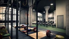 crossfit box interior - Google Search