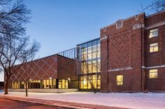 Gallery - Barclay School Expansion / NFOE et associés architectes - 4