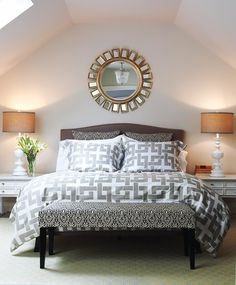 Classic bedroom design by Peter Fallico