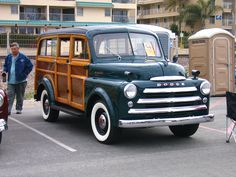 Dodge Power Wagon, woodie