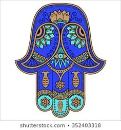 Find Color Hamsa Hand Drawn Symbol Decorative stock images in HD and millions of other royalty-free stock photos, illustrations and vectors in the Shutterstock collection. Hamsa Hand Tattoo, Hamsa Art, Hand Tattoos, Hamsa Design, Spiritual Images, Spiritual Symbols, Tatouage Hamsa, Symbole Protection, Henna Drawings