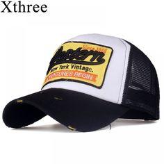 Xthree summer snapback hat baseball cap mesh cap cheap cap casquette bone  hat for 33839195437