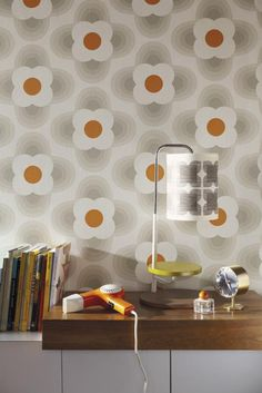 Orla Kiely launches new wallpaper range | Real Homes | Home improvement and decorating inspiration