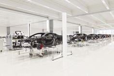The McLaren Production Centre Automotive Photography, Centre, Gym Equipment, Workout Equipment