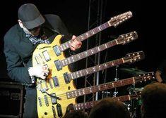 Rick Nielsen's (Cheap Trick) 5-Neck Guitar