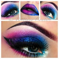 Color guard makeup