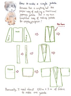 How to make a very simple yukata