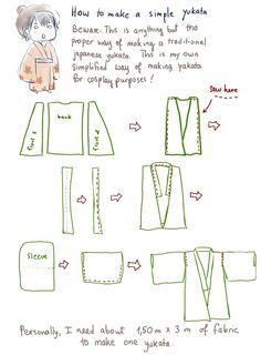 How to make a very simple yukata