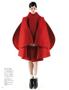visual optimism; daily fashion fix.: a cut above: monika sawicka by mark segal for vogue japan october 2012