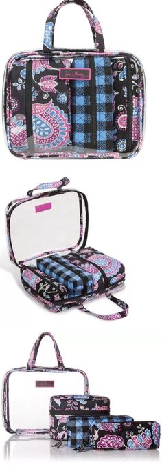 Women Bags And Accessories: Brand New Vera Bradley 4 Pc Cosmetic Organizer Set Alpine Floral Nwt -> BUY IT NOW ONLY: $49.99 on eBay!