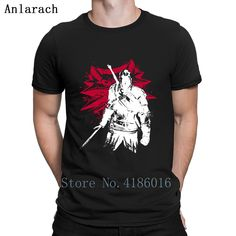 Black T Shirt ninja fight Outfit | T-Shirt white graphics men tee – Boheki
