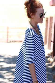 No such thing as having too many stripes in your wardrobe