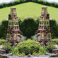 2 x zest 4 leisure snowdon #obelisk wooden #garden #plant support rose flower,  View more on the LINK: 	http://www.zeppy.io/product/gb/2/311535191102/