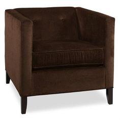 Tory Furniture City Spaces Park Avenue Club Chair Color: