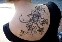 Heena Inspired Tattoo.