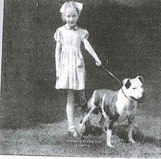 CHESTONION NIBS PAL (SBT) WITH MISS MARIE BARNARD~CIRCA 1948