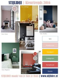 1000 images about kleur kleurcombinaties color for Kleurcombinaties interieur
