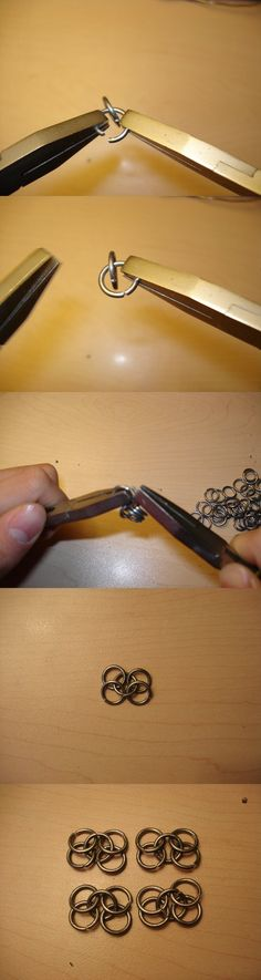 How to Make Chainmail - Part 3 by DaveLuck on deviantART