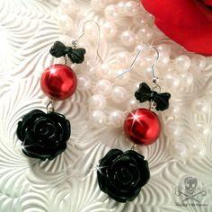 SCARLET NOIR - Charm Earrings