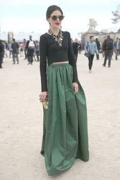 Street Style: Paris Fashion Week Spring 2013 | Flare.com