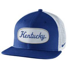 Nike Kentucky Wildcats True Fan Adjustable Trucker Hat - Royal Blue