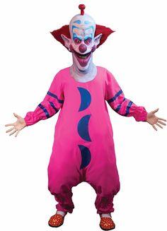 Halloween Costumes Men: Halloween Killer Klowns Slim Clown Suit Adult Men Costume Haunted House New BUY IT NOW ONLY: $48.75