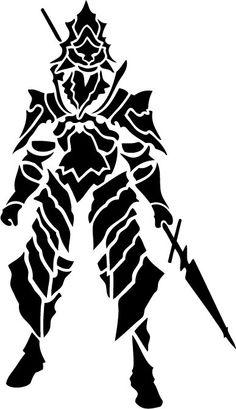 Dark Souls - Dragonslayer Ornstein Decal - Medium (homemade fan art)