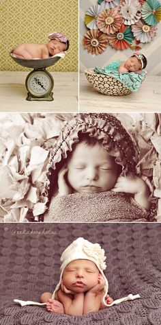 Peekaboo Photography.  Amazing newborn photographer!  #newbornphotography