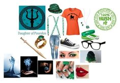 """Ariel Jackson- St. Patrick's Day"" by wisegirl308 on Polyvore featuring Mixit, Napier, Jade Jagger, Jeepers Peepers and Converse"