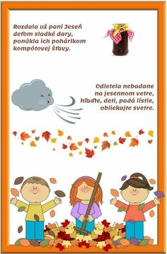 Autumn Activities For Kids, Kids And Parenting, Fall Decor, Diy And Crafts, Kindergarten, Preschool, September, Nursery, Clip Art
