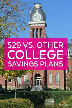 Section 529 plans can be a great way to save for college, but they're not the only way. When you're investing for a major goal like education, it makes sense to be familiar with all of your options. Click to learn more about U.S. savings bonds, mutual funds, custodial accounts, and trusts.