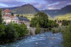 Meran.  Yep, there's a place called Meran...and I, as a Meran, want to go.  :)  Someday.