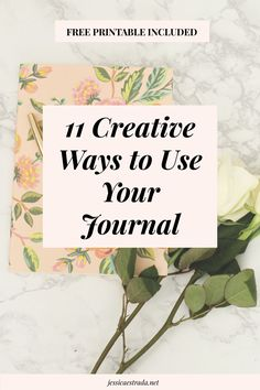 11 Creative Ways to Use Your Journal | Click through to read my favorite ways to write in my journal for self-love and self-discovery. Plus, you can download your FREE printable filled wth 30 journaling prompts for major self-reflection!