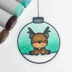 Bleistiftzeichnung - Wie zeichnet man ein Reh in einer Kugel. 鉛筆画-ボールに鹿を描く方法。 #ボール#鹿. Christmas Doodles, Christmas Drawing, Christmas Art, Watercolor Christmas, Christmas Journal, Christmas Games, Kawaii Drawings, Easy Drawings, Pencil Drawings