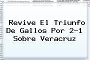 http://tecnoautos.com/wp-content/uploads/imagenes/tendencias/thumbs/revive-el-triunfo-de-gallos-por-21-sobre-veracruz.jpg Queretaro Vs Veracruz. Revive el triunfo de Gallos por 2-1 sobre Veracruz, Enlaces, Imágenes, Videos y Tweets - http://tecnoautos.com/actualidad/queretaro-vs-veracruz-revive-el-triunfo-de-gallos-por-21-sobre-veracruz/