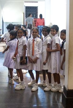 School Tour, Colombo National Museum, Colombo, Sri Lanka. Photo by Koni Macdonald