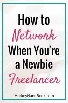 Are you new to freelancing? Here are 5 strategies to start networking as a newbie. They'll all pay off. via @ghorke
