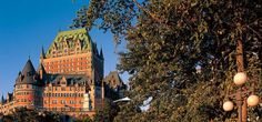 Le Chateau Frontenac.  It was so lovely there. I highly recommend a vacation there.