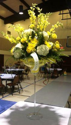 Martguerita arrangement for 125 year celebration Saint Joseph, Buy Flowers, Local Florist, Floral Arrangements, Catholic, Celebration, Table Decorations, Home Decor, San Jose