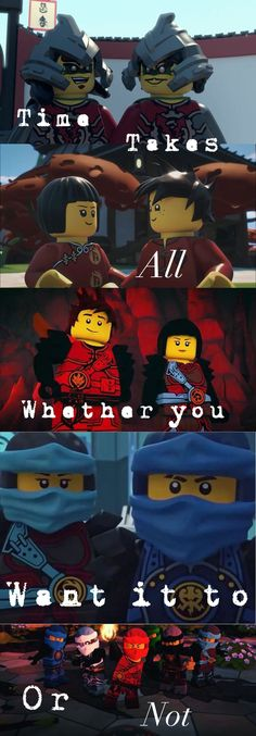 Ninjago-hands of time quote