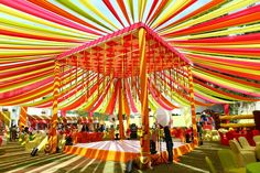 Best site to plan a modern Indian wedding, WedMeGood covers real weddings… Indian Wedding Theme, Desi Wedding Decor, Wedding Mandap, Wedding Themes, Wedding Designs, Wedding Events, Wedding Hall Decorations, Marriage Decoration, Tent Decorations