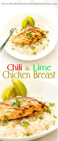 Tender Chili and Lime Chicken Breast: The marinade takes just seconds to put together, and when left to work it's magic it packs the chicken with flavour. Healthy Cooking, Healthy Eating, Healthy Recipes, Savoury Recipes, Sweets Recipes, Easy Recipes, Savory Foods, Healthy Meals, Wine Recipes