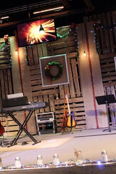 Our 2013 Christmas stage design