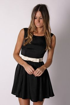 adorable little black dress. Esther Boutique has such cute clothes!