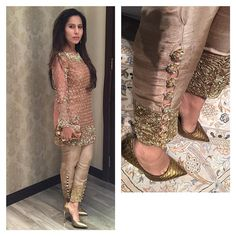 """Beautiful Sobia Nazir looks stunning in her own brand @sobianazirofficial ✨ The pants are  #pakistanchicfashion"""
